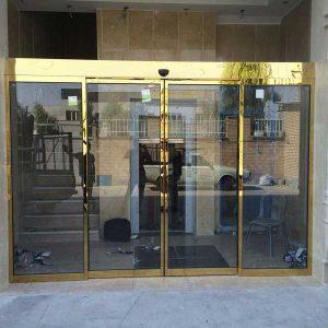 درب اتوماتیک شیشه ای مدرن